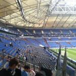 Die Arena von innen
