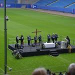 Der Chor, der den Gottesdienst begleitet hat. Hermann hat einige Konzerte von diesem Chor besucht. Sehr persönlich, sehr schön